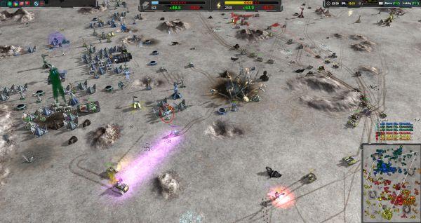 Zero-K - Massive robot armies fighting in an endless