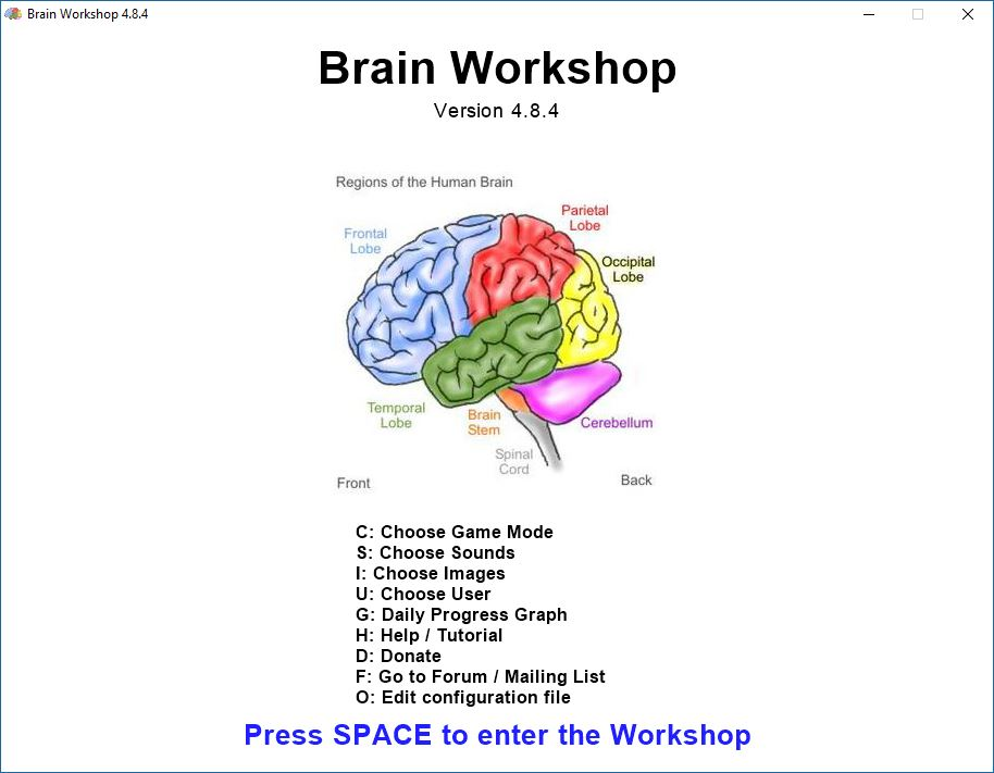 Brain workshop a dual n back game oss blog ccuart Image collections